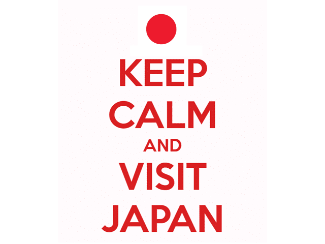 Keep Calm and Visit Japan